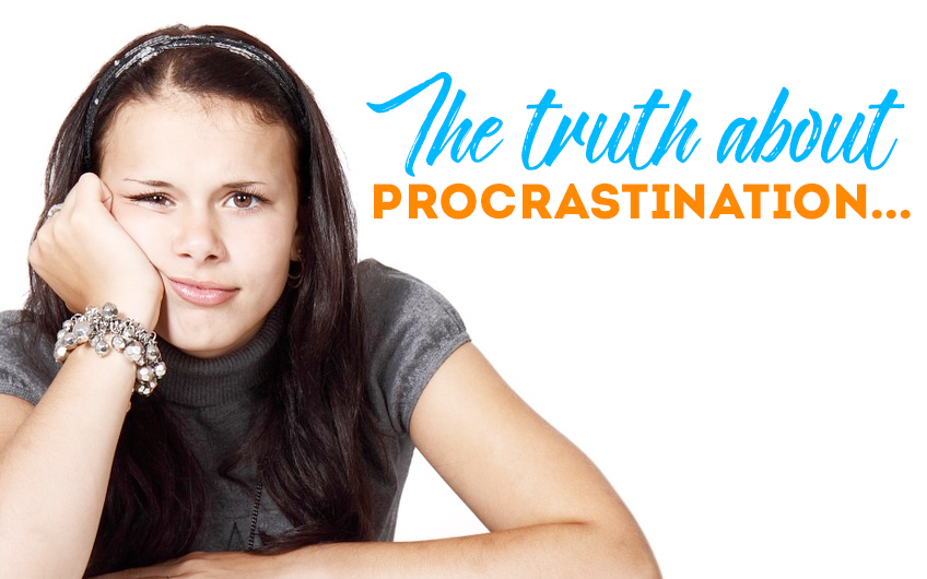 The truth about procrastination