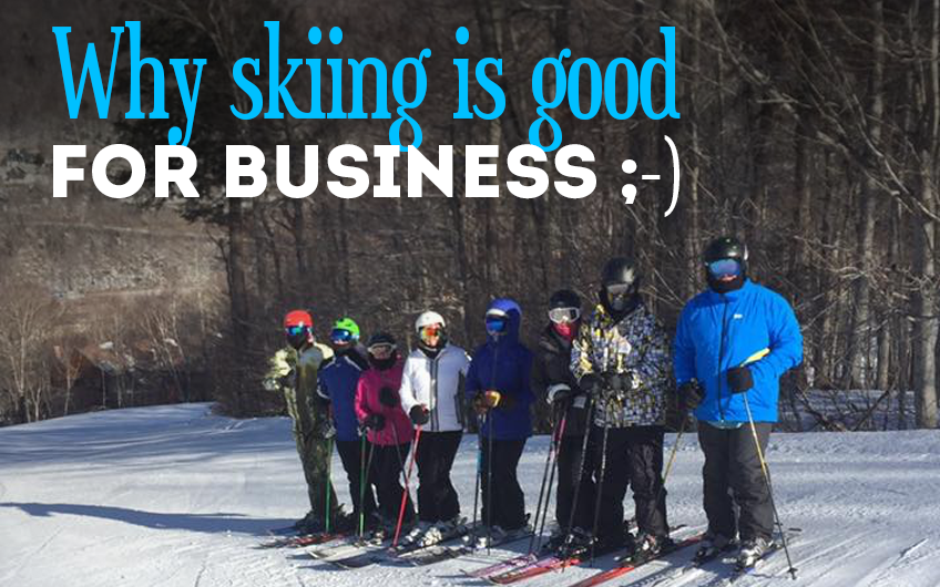 Why skiing is good