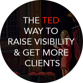 The ted hay to raise visibility & get more clients
