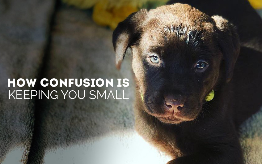 How Confusion is Keeping You Small