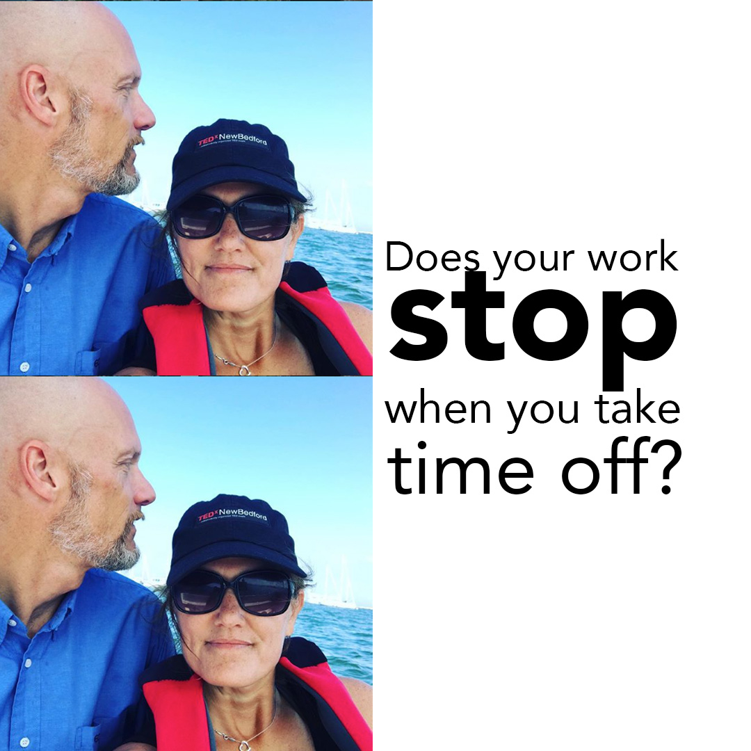 Does your work stop when you take time off