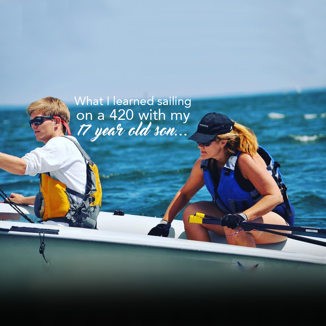 What I learned sailing on a 420