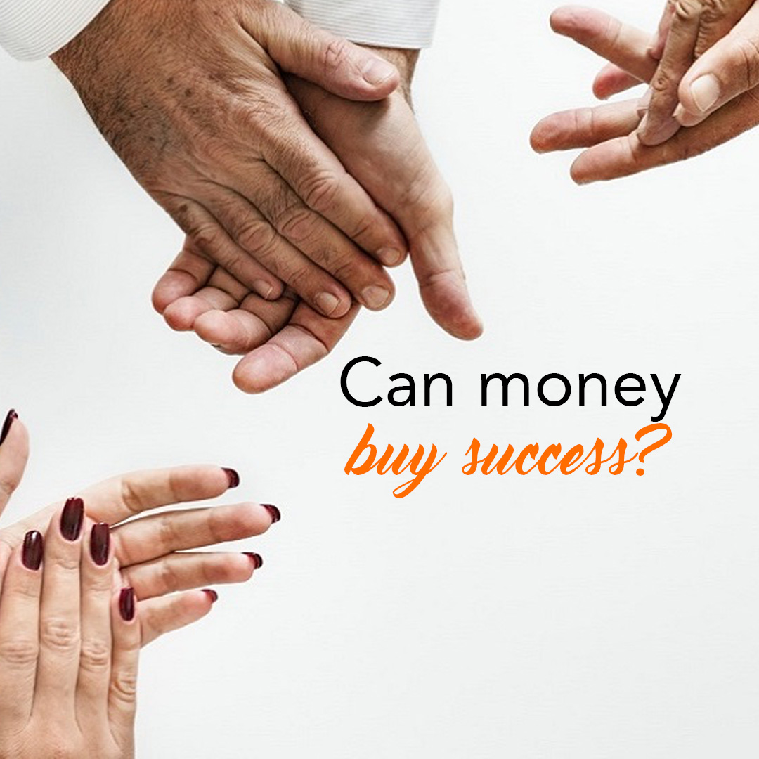 Can money buy success?