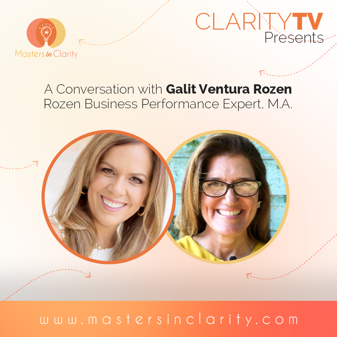 A conversation with Galit Ventura Rozen