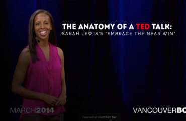 The Anatomy of a TEDTalk - Sarah Lewiss Embrace the Near Win
