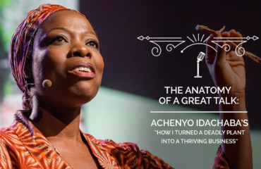The Anatomy of a TED Talk - Achenyo Idachaba