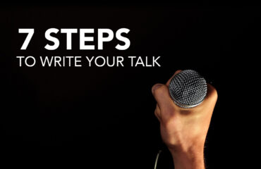7 Steps to write your talk