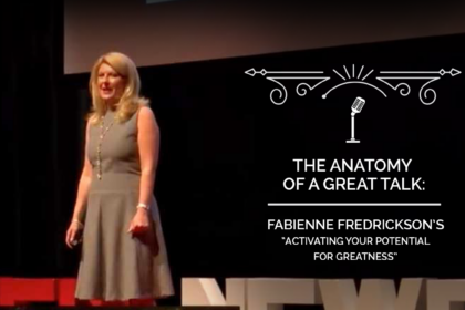 The Anatomy of a TED Talk - Fabienne Fredrickson