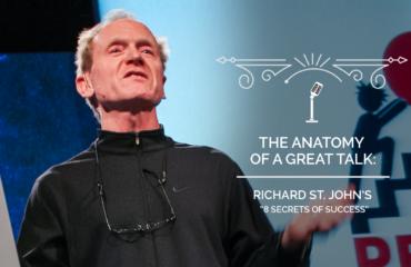The Anatomy of a TED Talk - Richard St. John