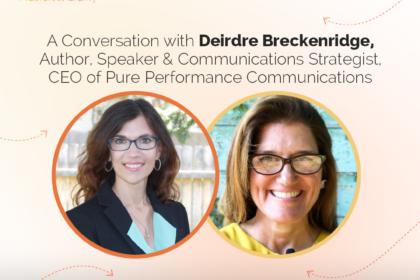 A conversation with Deirdre Breckenridge