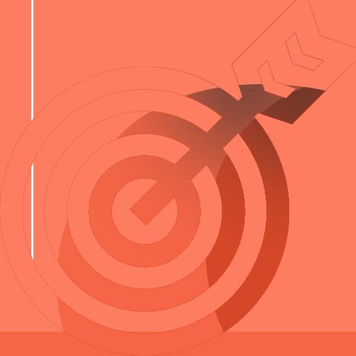 bulls eye icon