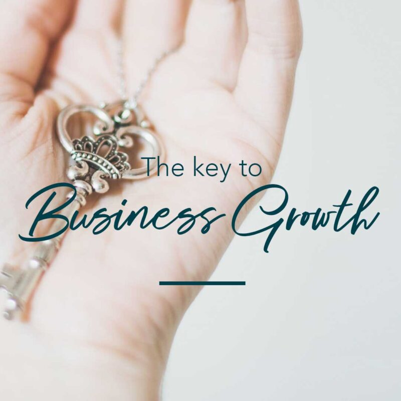 the key to business growth